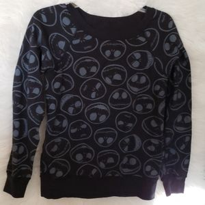 Nightmare Before Christmas reversible sweatshirt